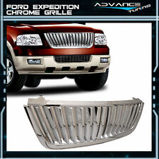 03-06 Ford Expedition Upper Billet Grille Grill Chrome Brand New