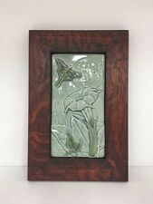Medicine Bluff Luna Art Tile Arts & Crafts Mission Style Oak Park Frame