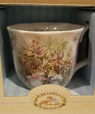 1983 Royal Doulton Brambly Hedge Summer Beaker Cup Signed Jill Barklem orig. Box