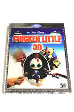 Disney Chicken Little Comedy Alien Invasion Aliens Animated Movie 3D Blu-ray DVD
