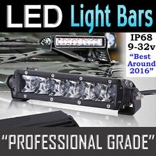 LED Light Bar– CREE 30w 8 Inch - High Intensity 5W LED's 12v,24v,4x4 4WD Offroad