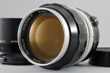 EXCELLENT++++  Nikon NIKKOR P Auto 10.5cm 105mm f/2.5 w/Hood from japan #464