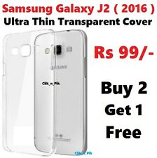 ULTRA THIN Transparent Soft Back Cover FOR SAMSUNG GALAXY J2 2016 @ Rs 99/-