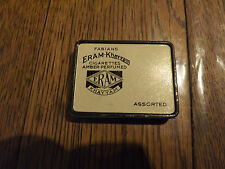 ANTIQUE FABIANS ERAM-KHAYYAM CIGARETTE TIN 1920's ORIGINALLY CANNABIS CONTENT