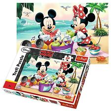 Trefl 24 Piece Maxi Unisex Disney Mickey Minnie Mouse Large Pieces Jigsaw Puzzle