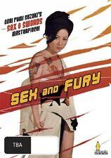 Sex and Fury DVD Japanese pink Reiko Ike & Christina Lindberg