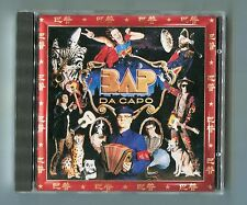 BAP cd DA CAPO © 1988 EMI West Germany 9-track CDP 7 90778 2 Deutschrock POP