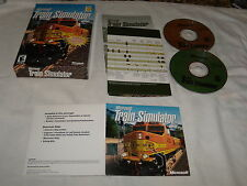 Microsoft Train Simulator (PC, 2000) Near Mint with box and inserts