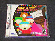 Sega Dreamcast South Park Chef's Luv Shack -   ****BRAND NEW FACTORY SEALED