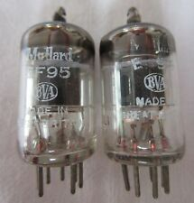 2 x EF95 MULLARD Valve Tubes - Great Britain