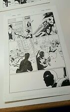 Marvel Deadpool Origins Page 21 Comic Original Art Page Enlists in the US Army