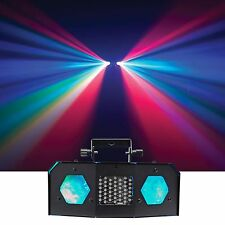 American DJ ADJ Dual Gem Pulse IR Moonflower Effect Dance Floor Light