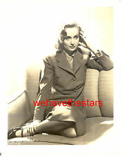 Vintage Carole Lombard GORGEOUS '39 MADE FOR EACH OTHER Publicity Portrait