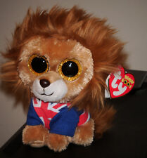"Ty Beanie Boos Boo's ~ HERO the 6"" Sparkle / Glitter Eyes NEW 2014 Version ~RARE"