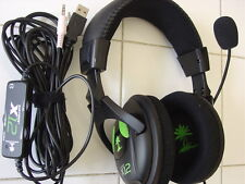 Turtle Beach Ear Force X12 Black/Green Headband Headsets for Multi-Platform