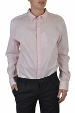 "Dolce & Gabbana D&G ""Slim Fit"" Men's Light Pink Casual Shirt Size US 2XL IT 56"