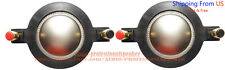 2pcs Mackie 1701 Tweeter Diaphragm for SRM-450 P-Audio BMD-440 BMD-450 Speaker