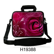 "15""-15.6""LAPTOP SLEEVE WITH HANDLE STRAP CARRY CASE BAG 4 ALL LAPTOPS *ROSE*"