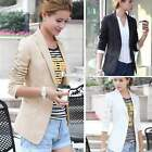 Casual Neu Damen Jacket Jacke Blazer Business Party Freizeitblazer Bolero Mantel