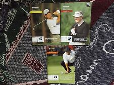 3 x GOLF PROGRAMMES BMW PGA 2006 WENTWORTH - ONE SIGNED BY TREVOR IMMELMAN
