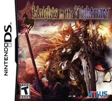 Knights In The Nightmare (Nintendo DS DSI Action RPG Adventure ATLUS RARE) NEW