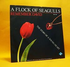 "7"" Single Vinyl 45 A Flock Of Seagulls Remember David 2TR 1985 (MINT) Synth Pop"
