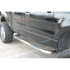 "FIT:02-08 DODGE RAM 1500 03-09 2500/3500 QUAD CAB 3"" S/S SIDE STEP NERF BAR"