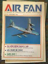 Air Fan n°97 Décembre 1986. Ravitilleurs USAF : DuKB 29 au KC10A