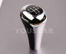 BMW MANUAL NEW BLACK & CHROME 5 SPEED GEAR KNOB SHIFT ALL E30 E36 E46 E39 E34 Z3