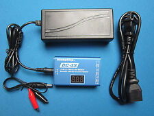 LIPO BATTERY BALANCE CHARGER & CELL CHECKER 2-4S 30W AC/DC & POWER SUPPLY RC USA