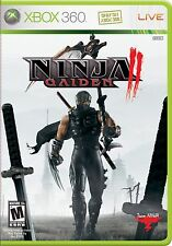 XBOX 360 Ninja Gaiden 2 Video Game two action adventure rpg third person story
