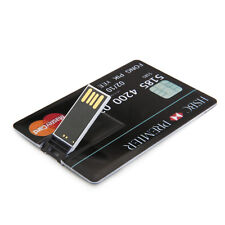 New High Quality 16GB Credit Card USB 2.0 Memory Stick Flash Pen Drive U Disk