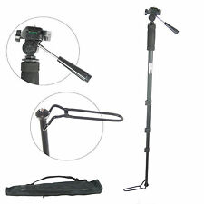 Monopode Telescopique Pied aluminium DynaSun WT1006 Monopod Photo Video +Sac