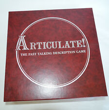 VTG 1992 Articulate Board Game Fast Talking Description Word Party Team Adults