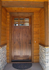 "CRAFTSMAN KNOTTY ALDER ENTRY DOOR 36"" x 80"""