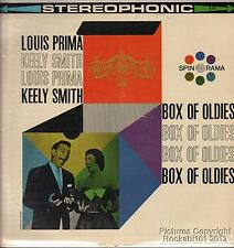 1960 Louis Prima and Keely Smith Jazz LP (Box of Oldies)
