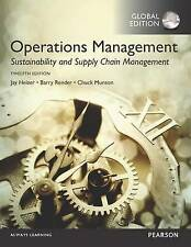 Operations Management: Sustainability and Supply Chain Management by Chuck Munso