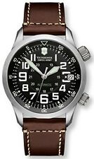 Victorinox Swiss Army Men's PROFESSIONAL AIRBOSS 241378 Brown Leather Swiss Quar
