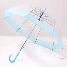 Transparent Bubble Umbrella Girl Creative Clear/Rain Umbrella Fashion Dome Shape