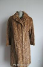 Women's Sz 10/12 Pastel Mink Fur Coat MINT+ Clearance Sale