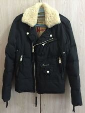 Come Nuovo dsquared 2 d2 lana di agnello nero piumino downjacket it46 XS S uomo