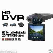 "HD Car Vehicle CCTV IR Night Vision Camera 2.5"" LCD DVR Recorder W/ 8GB SD Card"