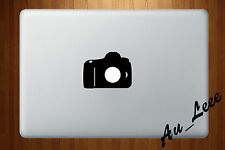 Macbook Air Pro Vinyl Skin Sticker Decal Photography Photo Camera DSLR M526