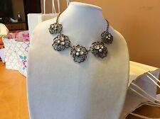 $49.99 Ann Taylor Bronze Floral Necklace 131 (3)