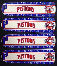 "New NBA DETROIT PISTONS BASKETBALL 42"" Ceiling Fan BLADES ONLY"