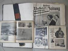 Alte Berliner Illustrierte Zeitungen von 1936 gebunden, Juli-Dez ein halbes Jahr