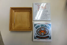 "New Orleans, Caju Country, Crawfish Etouffee, 4 1/4"" Tile Trivets & Tray!"