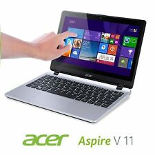 ACER Aspire v5 122p TOUCHSCREEN Laptop Netbook 4gb 500gb v3 112 * venerdì NERO *