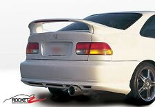 96-00 Honda Civic 2DR Coupe 3PC Rear Wing Spoiler w/ LED Light JDM EK USA CANADA