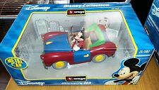 DISNEY COLLECTION-MICKEY'S 113-TOPOLINO-BURAGO 1/18-C. 2602-METAL CAR-DISNEY-AF2